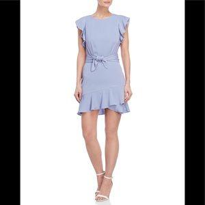 LUCY PARIS-Ruffle Trim Dress